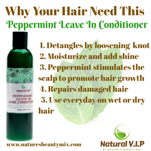 Peppermint Leave In Conditioner